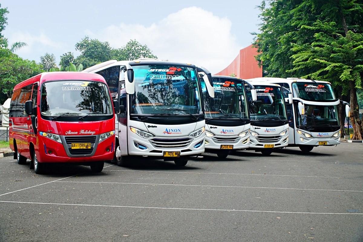 Bus Karyawan Executive  Kategori Bus Pariwisata Berdasarkan