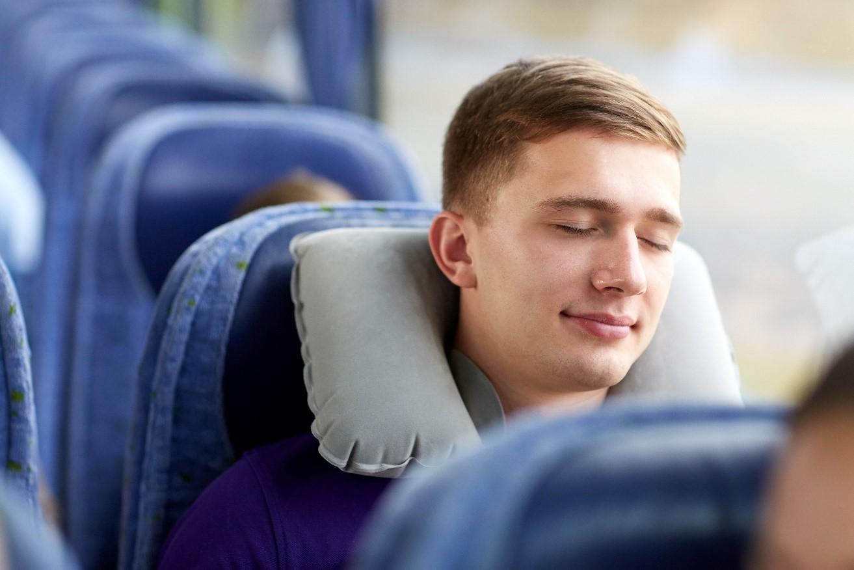 Tidur Dalam Bus